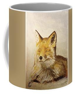 Red Fox Rest Coffee Mug