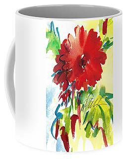 Gerberas Red, White, And Blue Coffee Mug