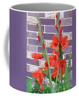Red Gladiolas Coffee Mug