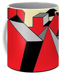 Red, Grey, Cream 2 Coffee Mug