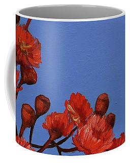 Red Gum Blossoms Coffee Mug