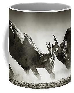Red Hartebeest Dual In Dust Coffee Mug