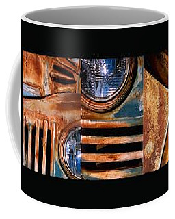Coffee Mug featuring the photograph Red Head On by Steve Karol