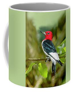 Red-headed Woodpecker Portrait Coffee Mug