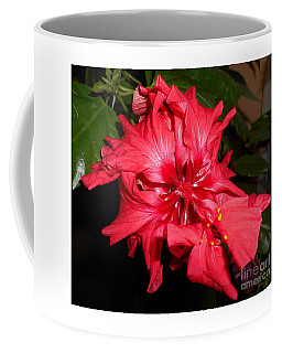 Red Hibiscus Flower Coffee Mug
