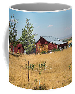 Red Home On The Range Coffee Mug