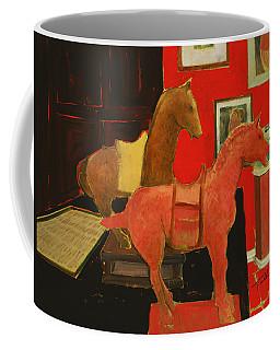 Red Horse Coffee Mug