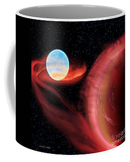 Red Hot Binary Star Coffee Mug