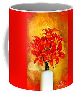 Red Hot Lilies Coffee Mug