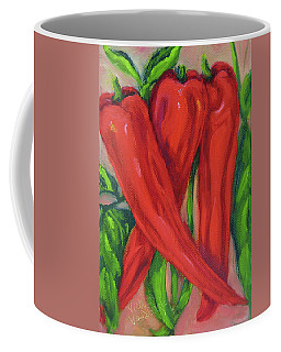 Red Hot Peppers Coffee Mug