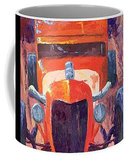 Red Hot Rod Sedan Coffee Mug