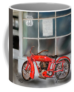 Red Hot Tail Gunner Coffee Mug by Colleen Taylor