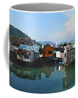 Red House On The Water Coffee Mug