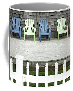 Red Hued Step-chair Coffee Mug