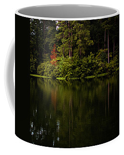 Coffee Mug featuring the photograph Red In Square by Parker Cunningham