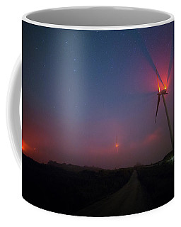 Red In The Night Coffee Mug
