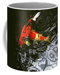 Red Koi Fish Coffee Mug