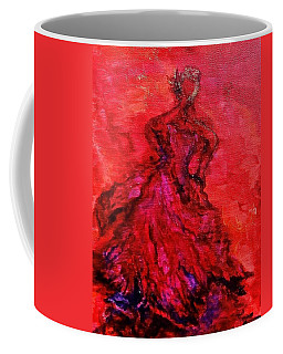 Red Lady Coffee Mug