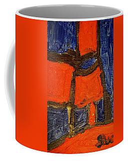 Red Lamps Coffee Mug