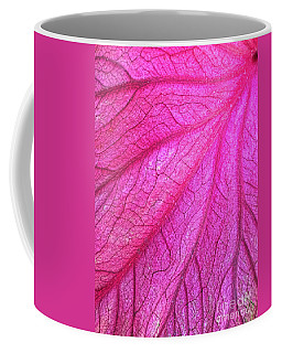 Red Leaf Arteries Coffee Mug
