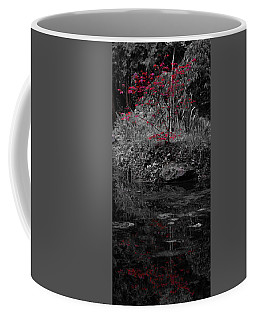 Coffee Mug featuring the photograph Red Leaves Reflected by Scott Lyons