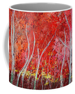 Crimson Leaves Coffee Mug