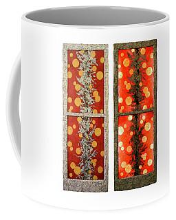 Red Light, White Line Coffee Mug