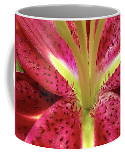 Red Lily Closeup Coffee Mug