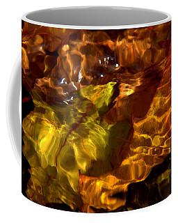 Red Lined Coffee Mug
