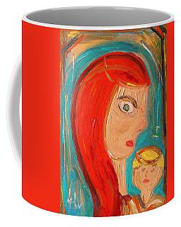 Red Madonna Coffee Mug