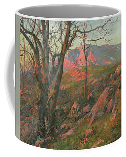 Red Morning On The Chatir-dag In May  Coffee Mug