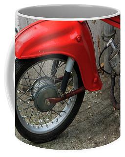 Red Motorbike Part I Coffee Mug
