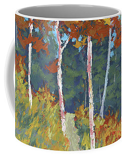 Red Mountain Aspens Coffee Mug