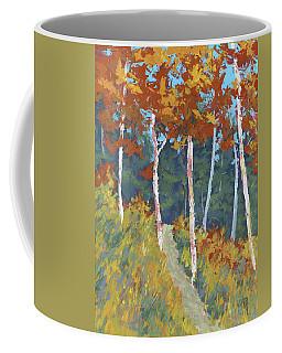 Red Mountain Aspens Coffee Mug