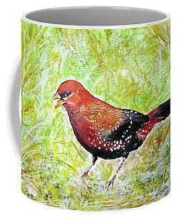 Red Munia Coffee Mug