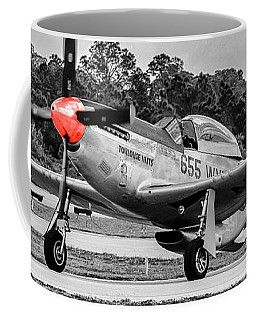 Red Nose P51 Coffee Mug