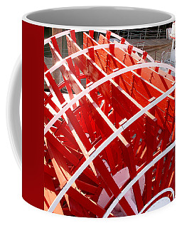 Red Paddle Wheel Coffee Mug