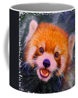 Red Panda Cub Coffee Mug by Caito Junqueira
