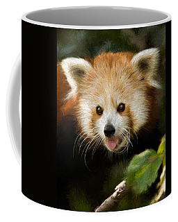 Coffee Mug featuring the photograph Red Panda by Lana Trussell