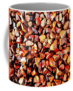 Red Pebbles Coffee Mug