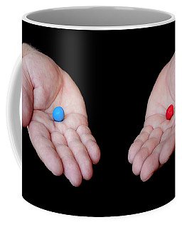 Red Pill Blue Pill Coffee Mug by Semmick Photo