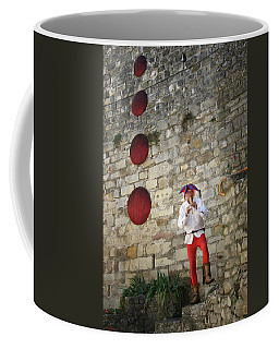 Red Piper Coffee Mug