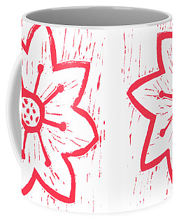 Red Poinsettia Coffee Mug