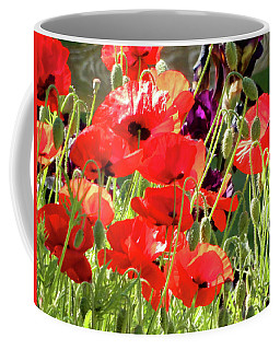 Red Poppies 1 Of 2 2017 Coffee Mug