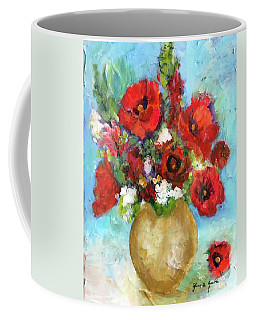 Red Poppies Coffee Mug