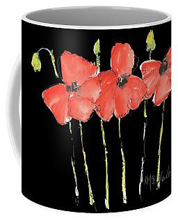 Red Poppy Play Coffee Mug