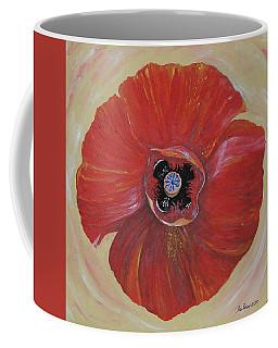 Red Poppy Coffee Mug by Rita Fetisov