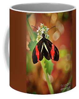 Coffee Mug featuring the photograph Red Postman by Robert Bales