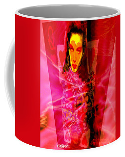 Red Queen Of Hearts Coffee Mug