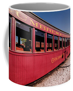 Red Rail Cars Coffee Mug